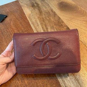 Chanel Wallet On The Chain